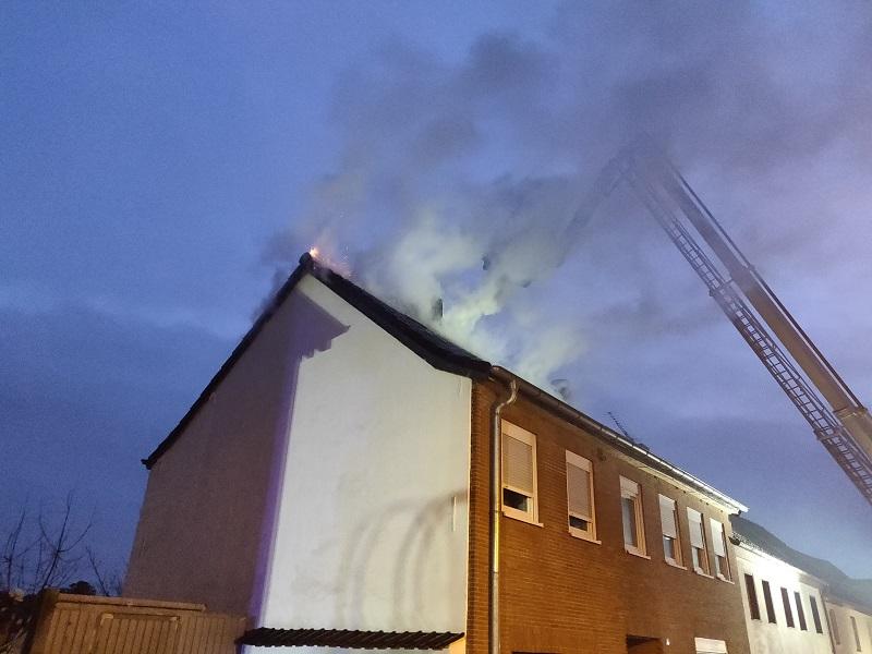 21.11.2018 – Gebäudebrand in Kerpen