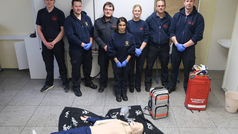 03.12.2018 – Erfolgreiche Ausbildung zum Notfallhelfer NRW
