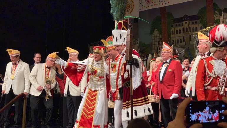 09.01.2019 – Prinz Tommy I. führt die Kerpener Jecken an