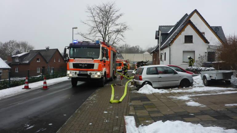 24.01.2019 – Vermeintlicher Gebäudebrand in Kerpen-Türnich