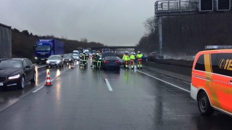 14.01.2019 – Einsatz auf der Autobahn 4 in Fahrtrichtung Köln
