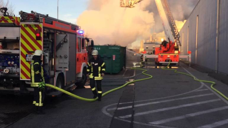 26.02.2019 – Containerbrand in Sindorf