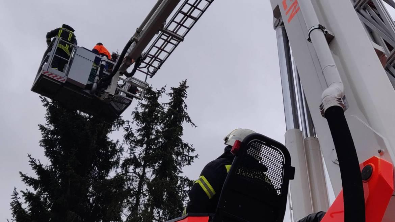 15.03.2019 – Sturmeinsatz im Gewerbegebiet Türnich