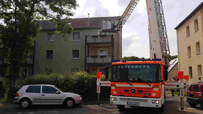 27.05.2019 – Zwei gemeldete Gebäudebrände in Horrem und Kerpen innerhalb kurzer Zeit