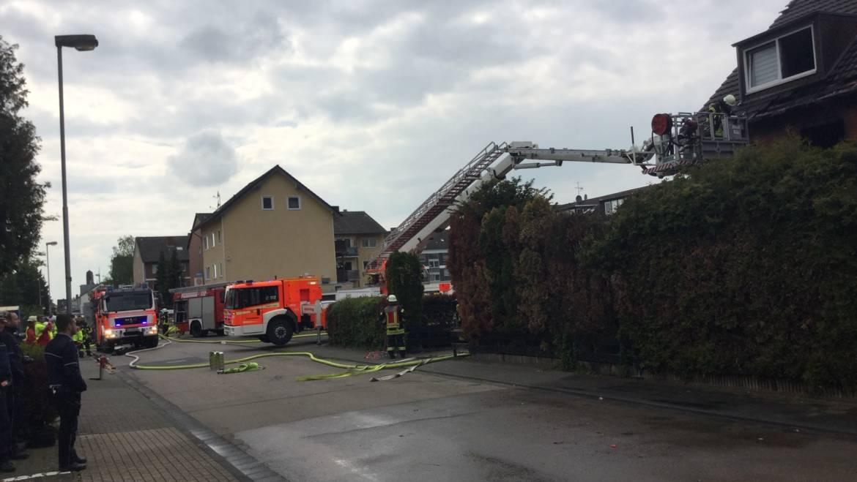 07.05.2019 – Gebäudebrand in Sindorf mit starker Rauchentwicklung
