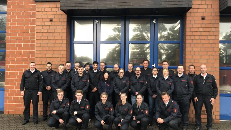 09.05.2019 – Start der Grundausbildung bei der Freiwilligen Feuerwehr