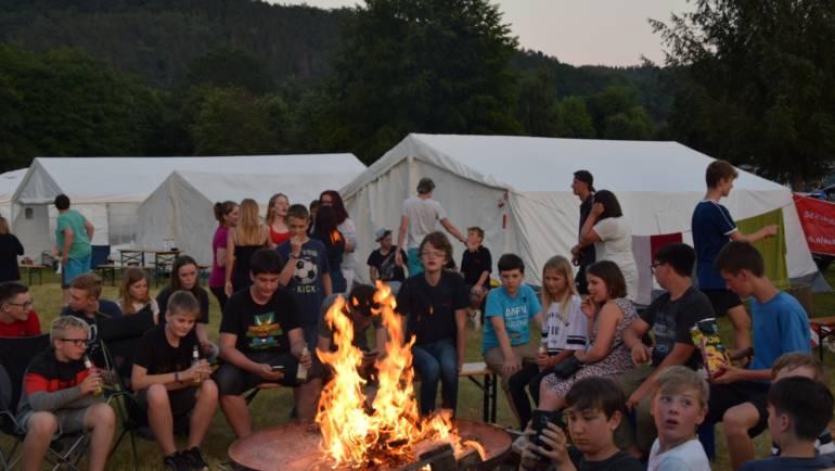 23.06.2019 – Stadtzeltlager der Jugendfeuerwehr geht zu Ende