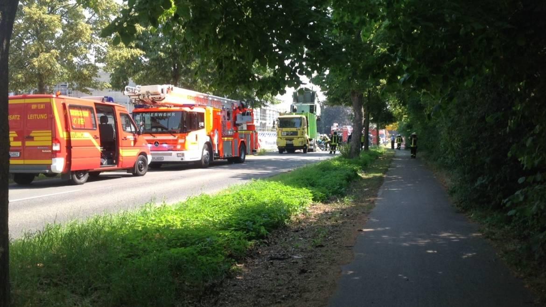 26.06.2019 – Brand in einem Laderaum eines Müllwagens in Sindorf