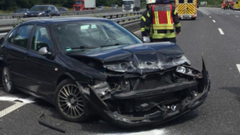 21.06.2019 – Verkehrsunfall auf der Autobahn 4