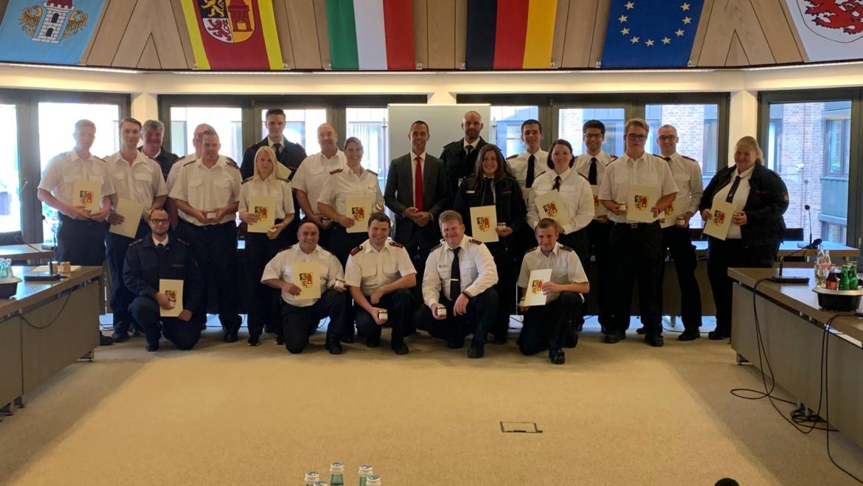 11.07.2019 – Bürgermeister spricht Jugendfeuerwehr seinen persönlichen Dank aus