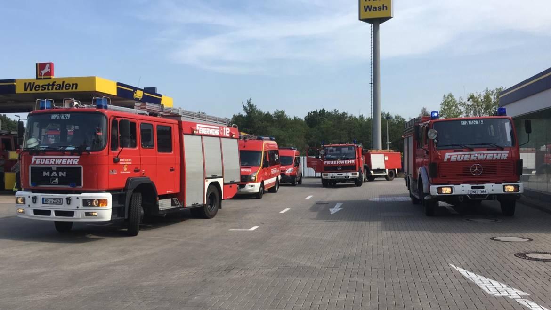 26.07.2019 – Feuerwehr Kerpen unterstützt bei Waldbrand in Frechen