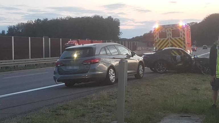 13.08.2019 – Verkehrsunfall auf der Autobahn 4