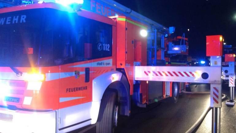30.08.2019 – Brand in einem Berufskolleg in Kerpen-Horrem