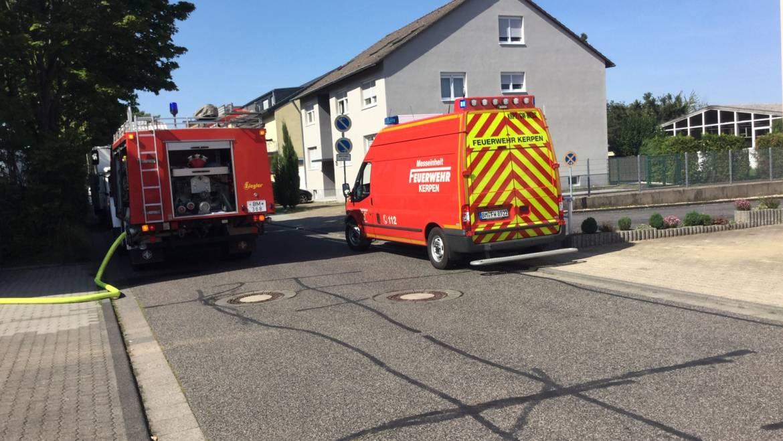 22.08.2019 – Rauchentwicklung in einem Industriebetrieb in Kerpen-Sindorf