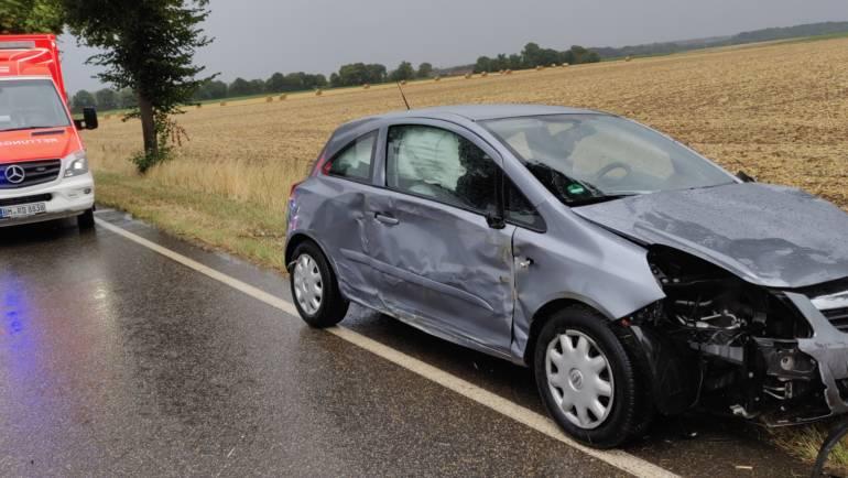 06.08.2019 – Verkehrsunfall zwischen Blatzheim und Golzheim