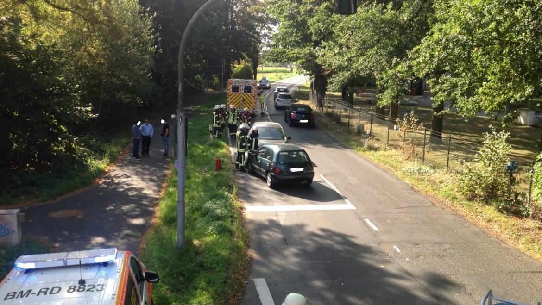03.09.2019 – Verkehrsunfall in Sindorf mit einer verletzten Person