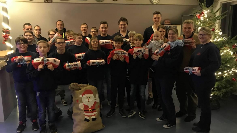17.12.2019 – Weihnachtsfeier bei der Jugendfeuerwehr Brüggen