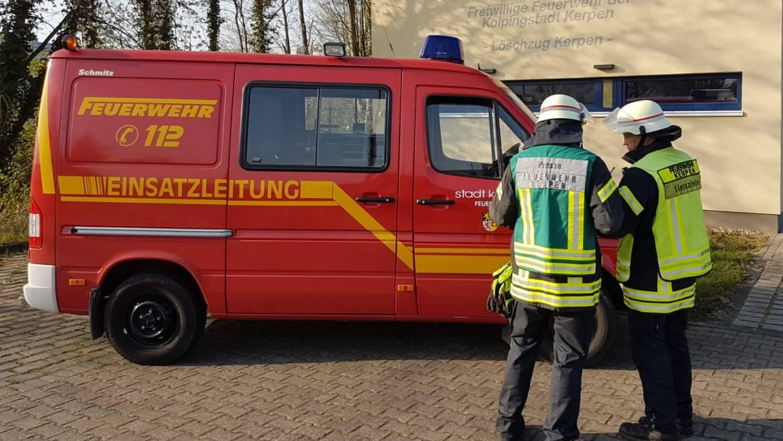17.04.2020 – Beitragsreihe: Die Feuerwehr Kerpen in Zeiten des Coronavirus
