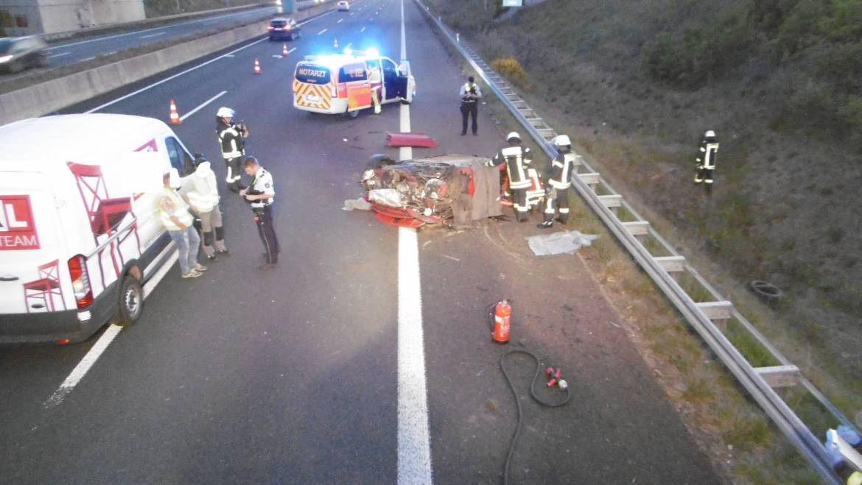 18.04.2020 – Tödlicher Verkehrsunfall auf der Autobahn 4
