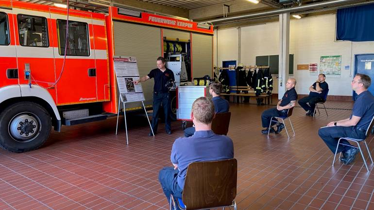 29.04.2020 – Beitragsreihe: Die Feuerwehr Kerpen in Zeiten des Coronavirus