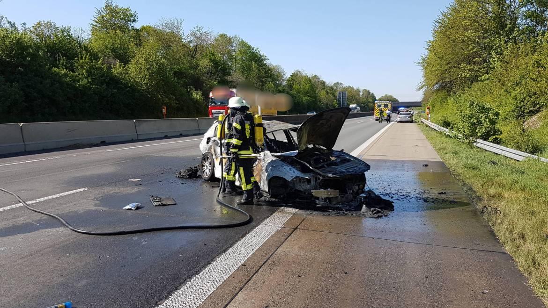 22.04.2020 – Verkehrsunfall auf der Autobahn 61 am gestrigen Tag