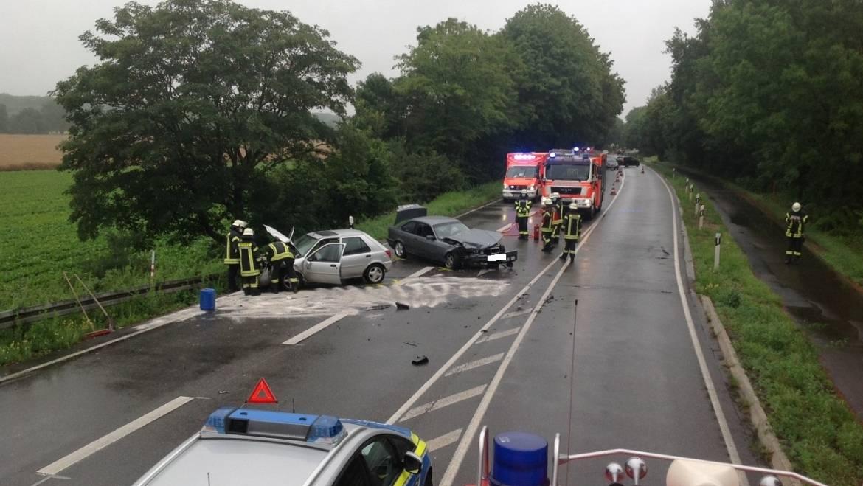 09.07.2020 – Verkehrsunfall mit zwei PKW