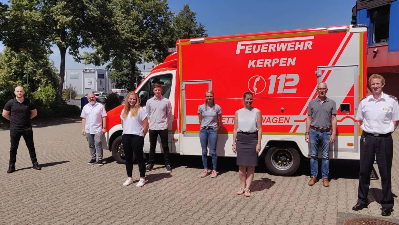 30.07.2020 – Vier neue Notfallsanitäter-Azubis beginnen in Kürze ihre Ausbildung