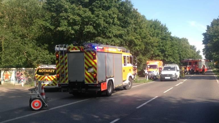 23.07.2020 – Verkehrsunfall auf der L163