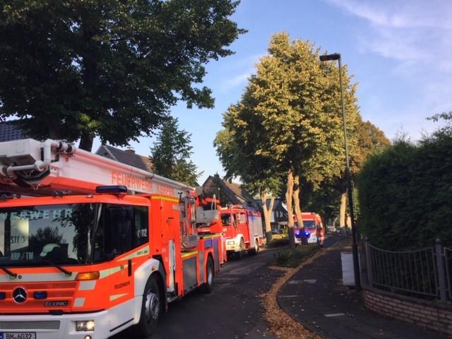 10.08.2020 – Früher Einsatz für die Feuerwehr Kerpen