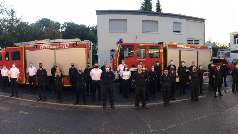 17.08.2020 – Grundlehrgang in der Freiwilligen Feuerwehr