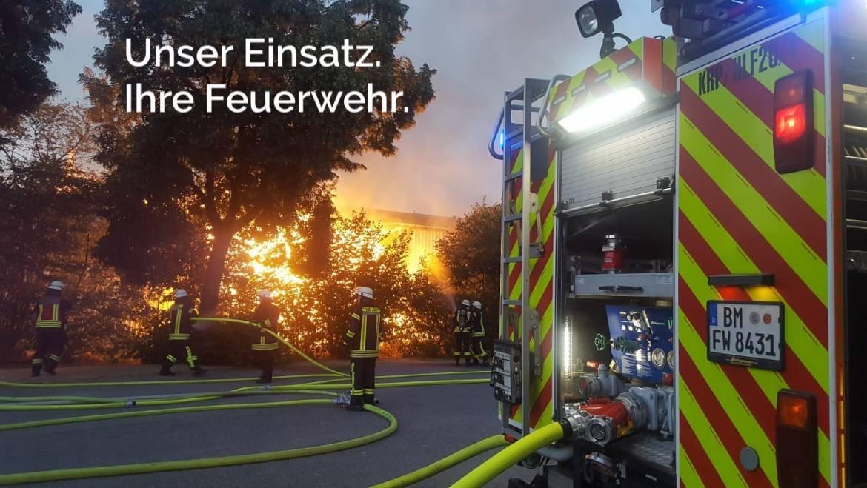21.08.2020 – Wir suchen neue Auszubildende bei der Feuerwehr 🚒