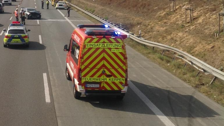 21.09.2020 – Verkehrsunfall mit 3 beteiligten PKW und insgesamt 6 verletzten Personen