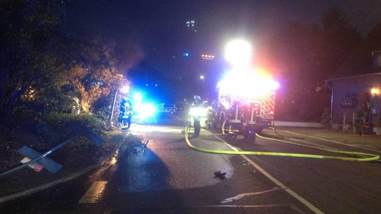 20.09.2020 – Verkehrsunfall am Ortsausgang in Kerpen – Blatzheim