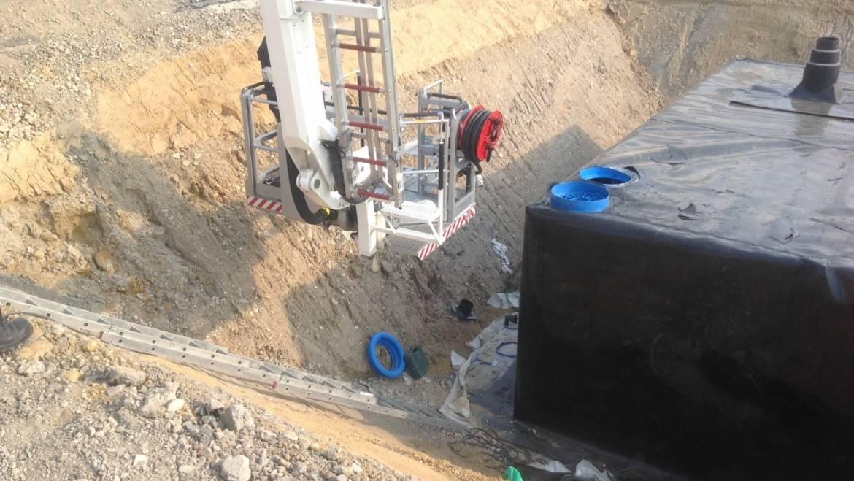15.09.2020 – Rettung aus Baugrube