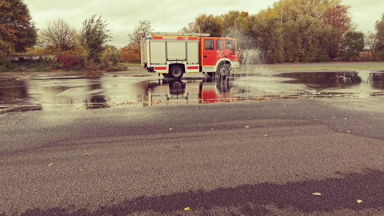 03.11.2020 – Fahrsicherheitstraining bei der Feuerwehr Kerpen