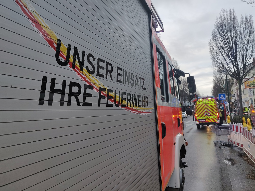 17.12.2020 – Feuerwehreinsatz in Kerpen-Horrem
