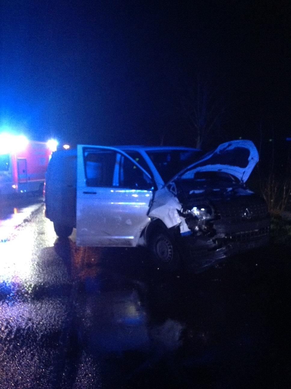 22.12.2020 – Verkehrsunfall auf der L122 in Höhe der Ortslage Kerpen