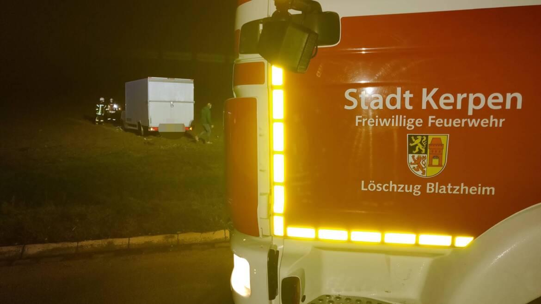 05.02.2021 – Verkehrsunfall im Kreuzungsbereich B264 / B477 zwischen Blatzheim und Golzheim